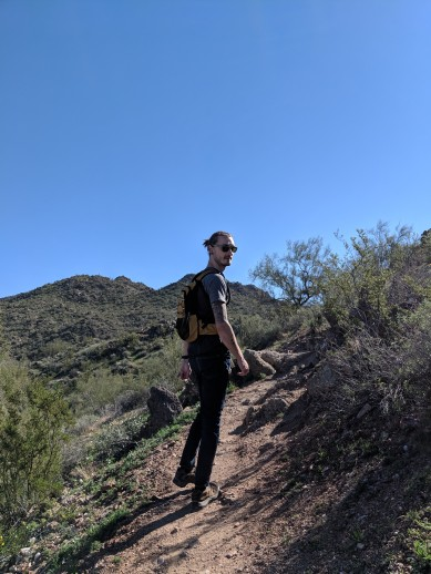 My favorite desert hike view ;)